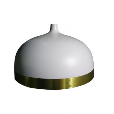 Modern dome coating aluminum lamp cover