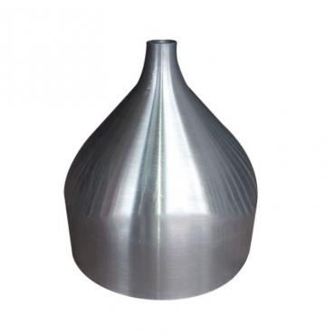 Industrial brush aluminum lamp shade cover supplier